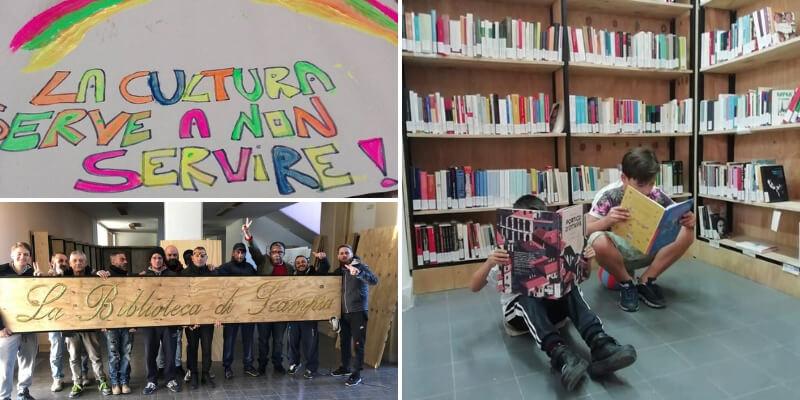 """Scampia, storia della biblioteca nata per """"combattere la camorra attraverso la cultura"""""""