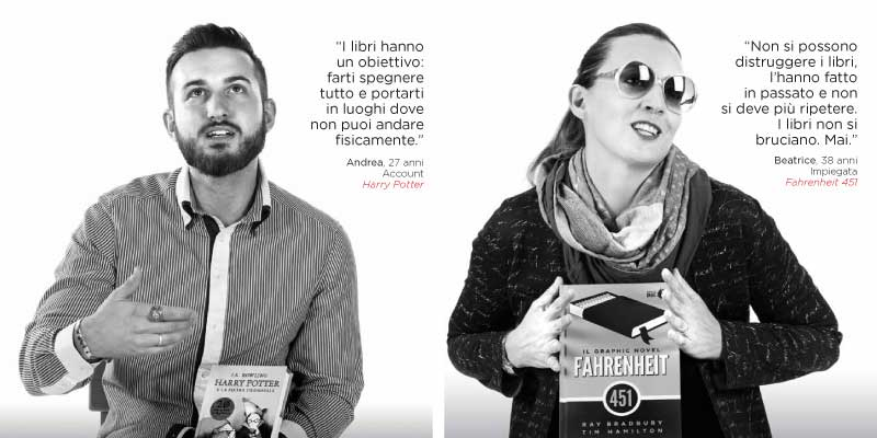 """""""C'è vita, in un libro. La tua"""", parte la campagna di Mondadori Store per promuovere la lettura"""
