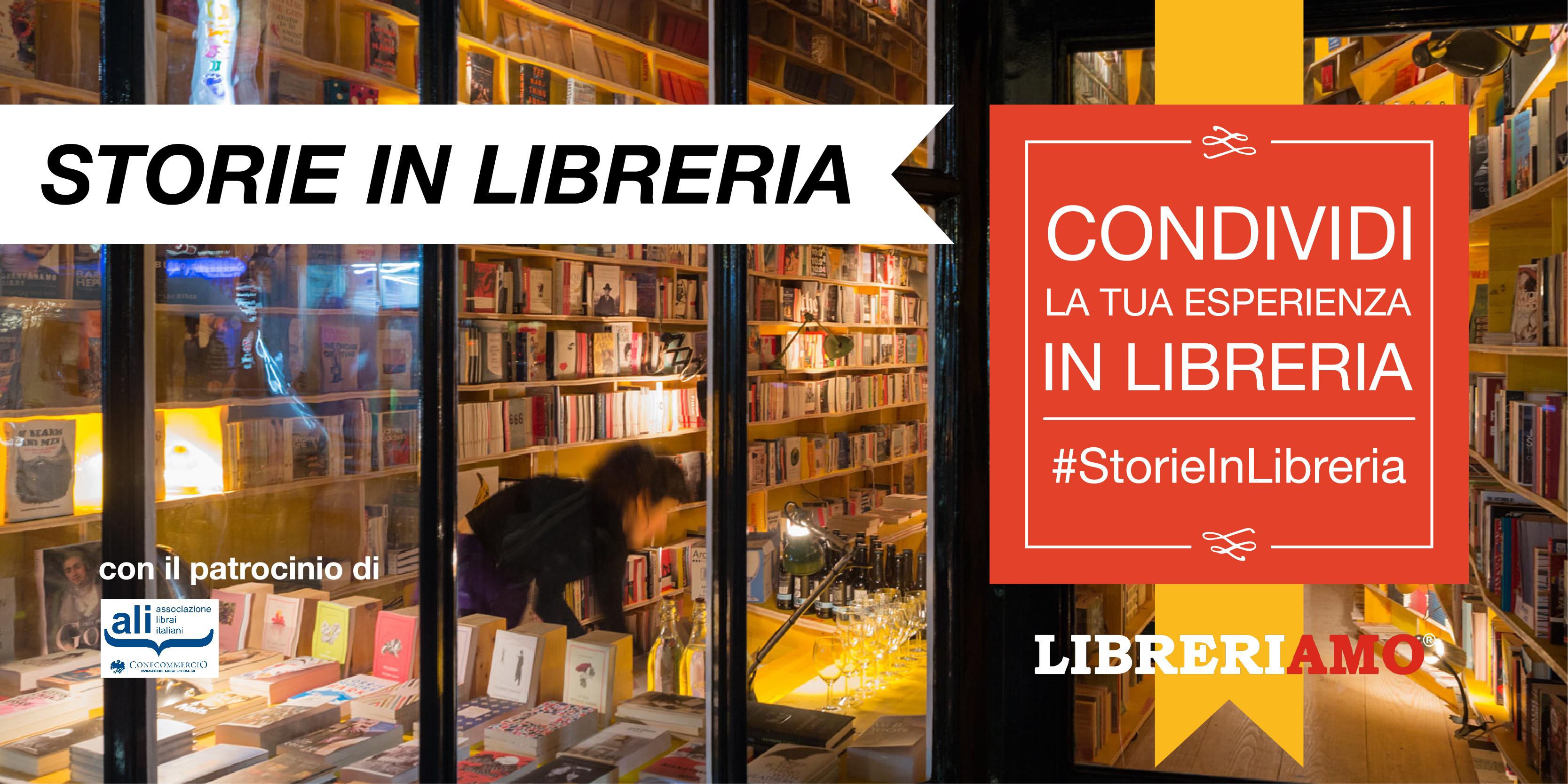 #StorieInLibreria, al via la campagna social che celebra le librerie d'Italia