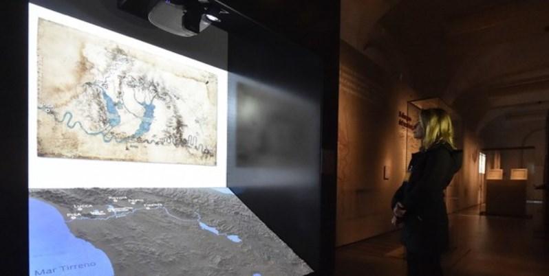 Il Codice Leicester di Leonardo in mostra agli Uffizi