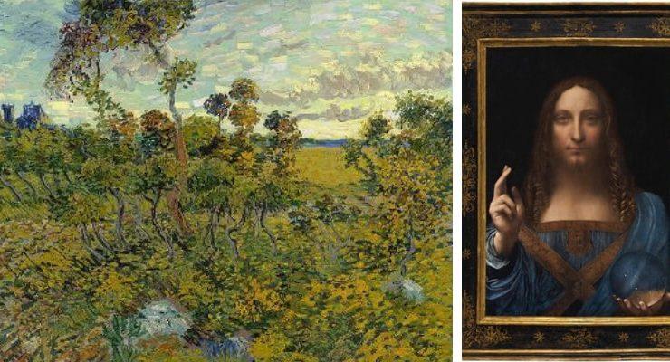 I dieci capolavori ritrovati più famosi dell'arte
