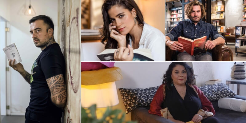 I personaggi dello spettacolo raccontano i libri della propria vita in tv