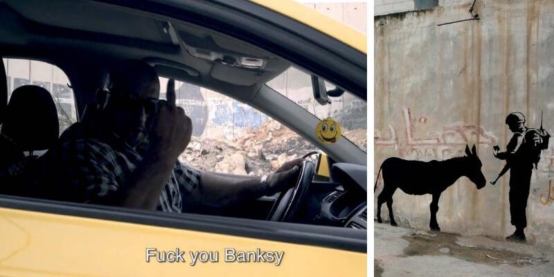 L'uomo che rubò Banksy, al cinema il film sullo street artist