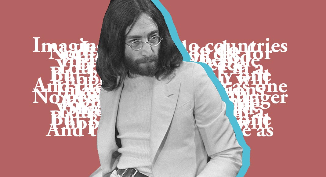 Imagine di John Lennon è la poesia della fratellanza