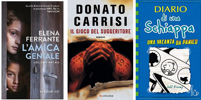 Classifica libri più venduti.