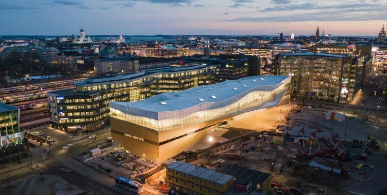 oodi biblioteca helsinki finlandia indipendenza