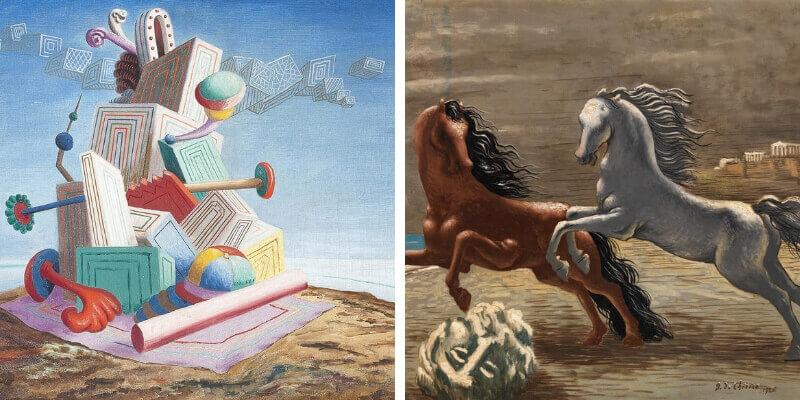 """Savinio e De Chirico, la mostra sui """"Dioscuri dell'arte"""""""