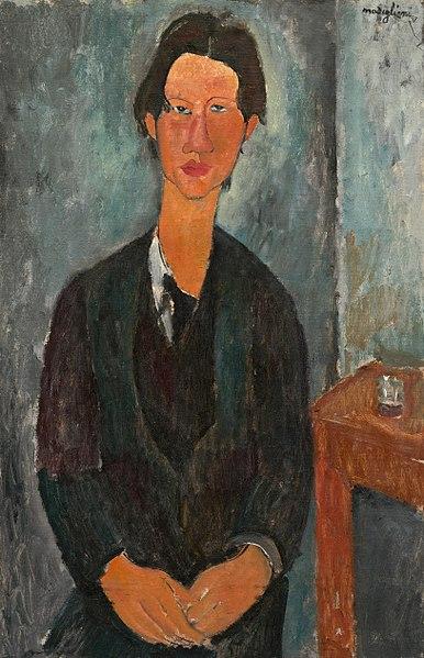 386px Amedeo Modigliani Chaim Soutine 1917