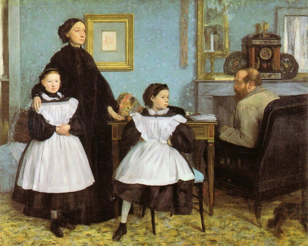 Edgar Degas La famille Bellelli 1