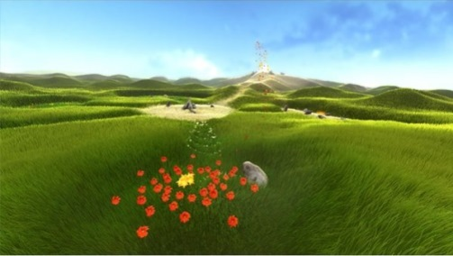 Flower, quando il videogioco si fa poesia