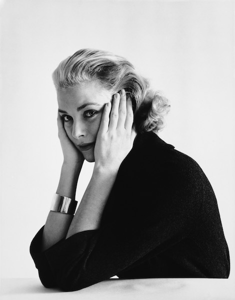 Grace Kelly in studio 1955 © Mark Shawmptvimages.com
