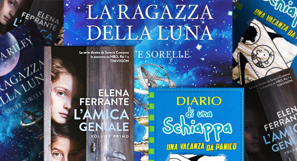 """Classifica libri più venduti. Al primo posto """"La ragazza della luna"""""""