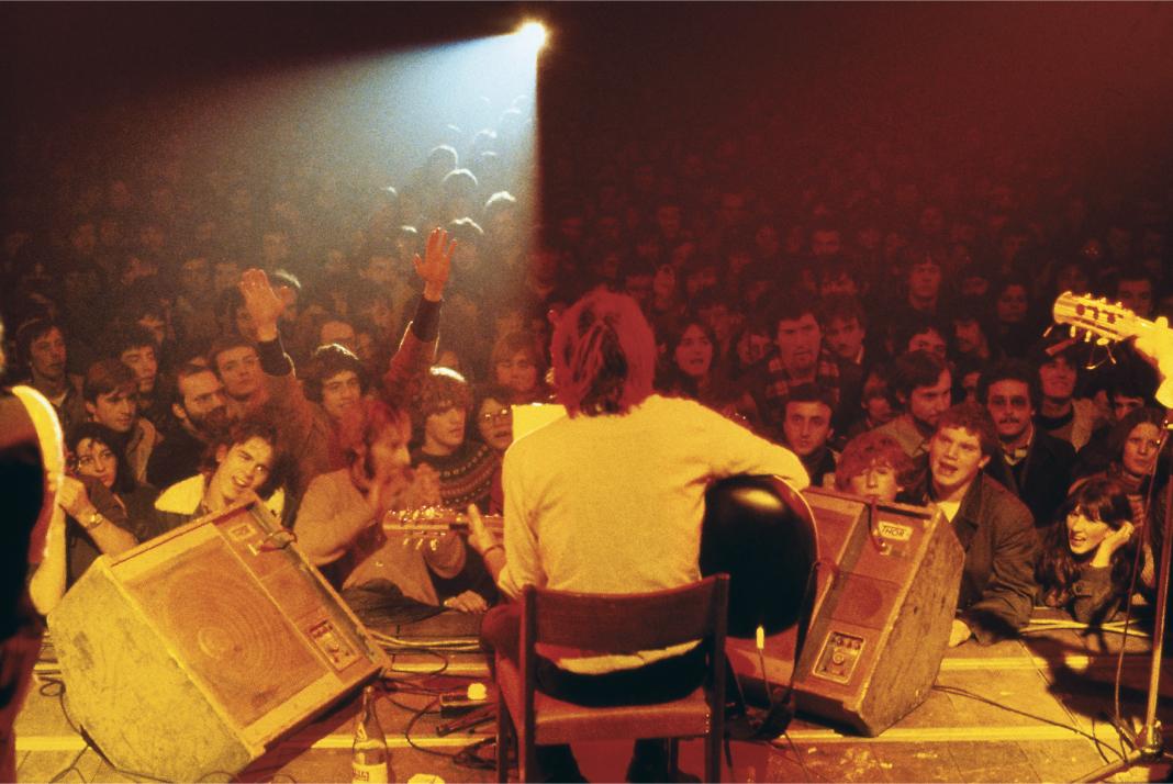 Teatro Tenda, Firenze, 1979. Tournée con PFM.