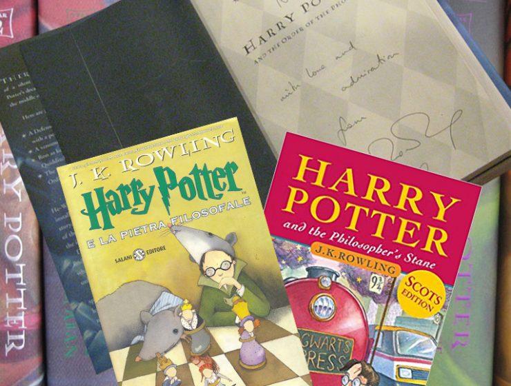harry-potter prima edizioni valgono migliaia di sterline