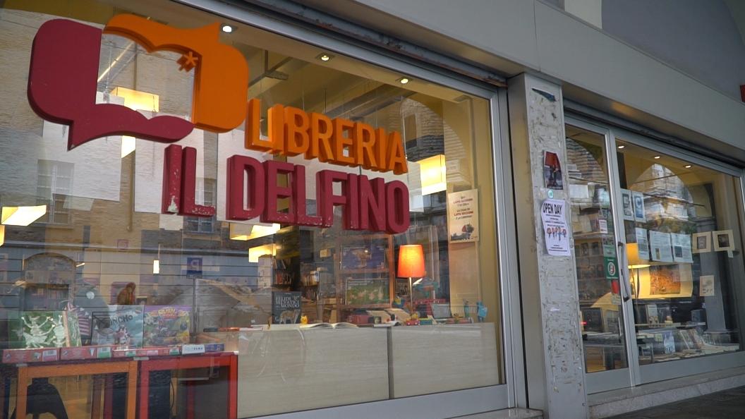 Il Premio per Librai 2019 alla libreria Il Delfino di Pavia
