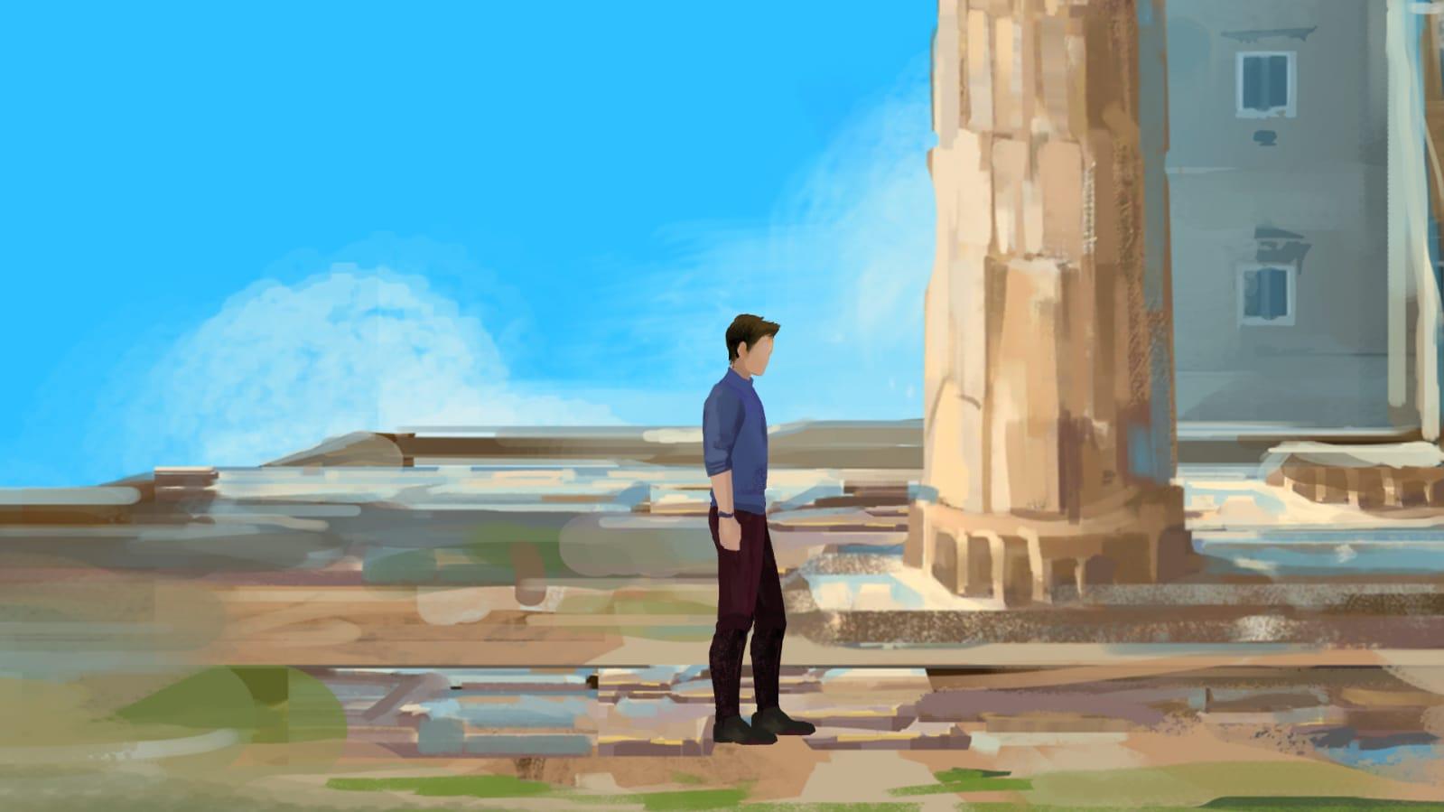 past for future colonne