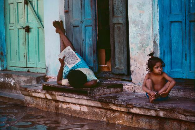 Varanasi, Uttar Pradesh, India, 1984 © Steve McCurry