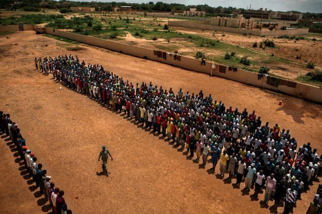 Africa, Mali, Mopti. 31/07/2012.