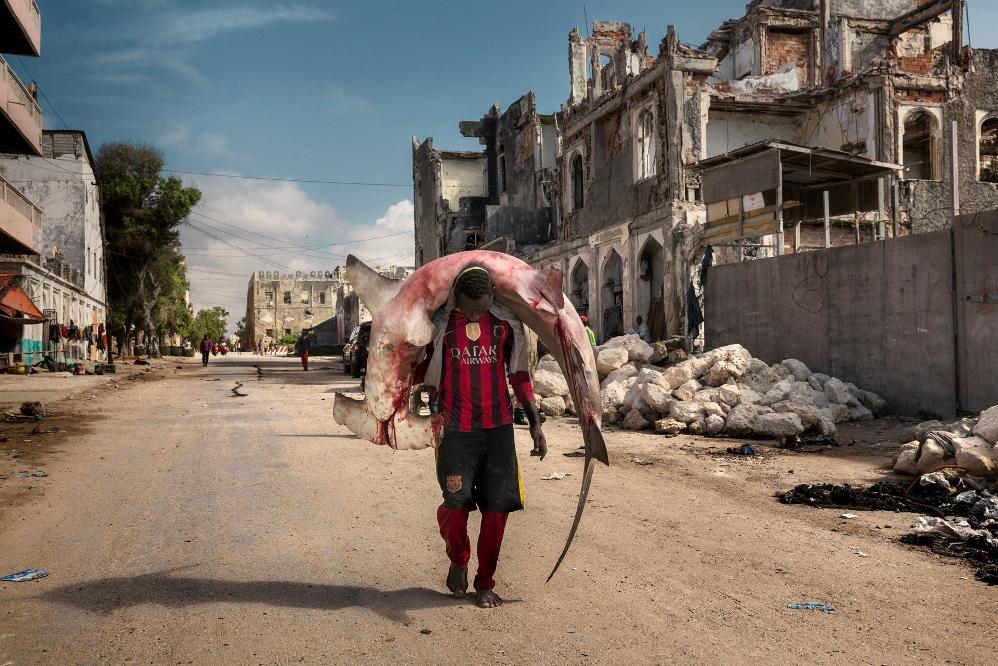 Africa, Somalia, Mogadishu. 10/10/2015.