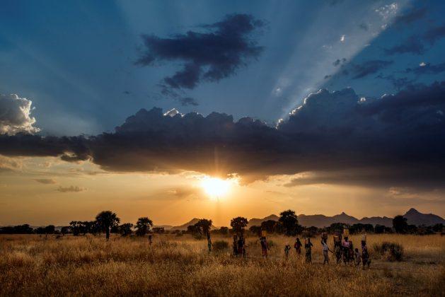 Africa, Sudan, South Kordofan. 29/11/2013.