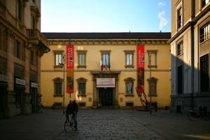 Biblioteca Ambrosiana facciata pincipale Milano