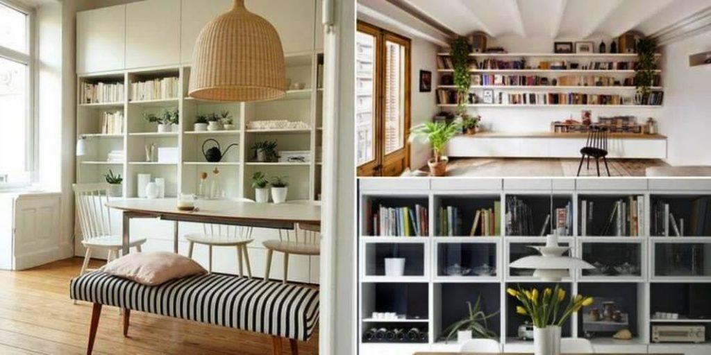 Come realizzare una libreria di casa spendendo poco