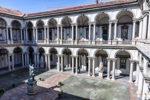 Milan Pinacothèque de Brera Cour intérieure