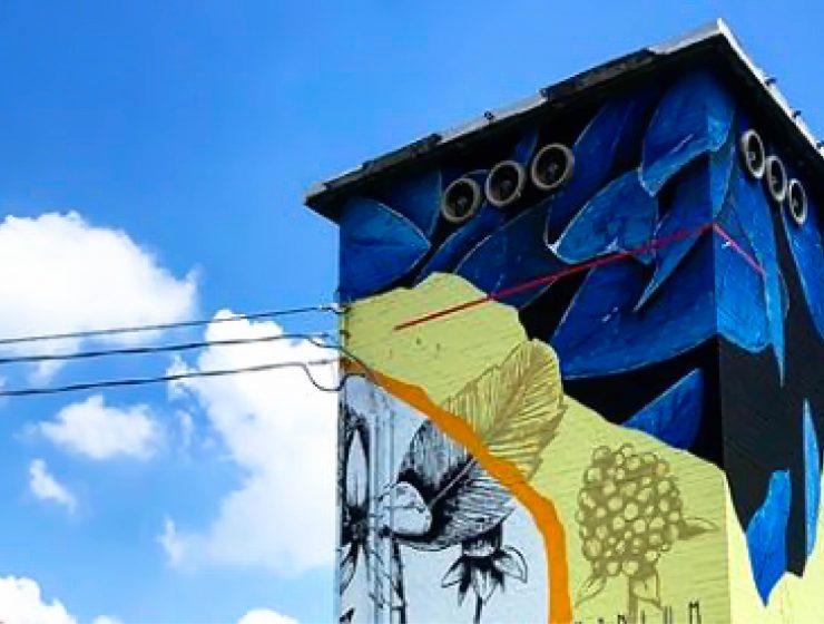 A Imola le cabine elettriche diventano opere d'arte