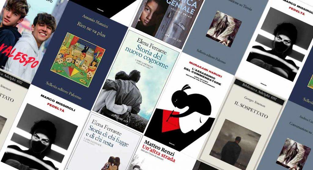 Classifica libri più venduti. 8 su 10 sono scrittori italiani