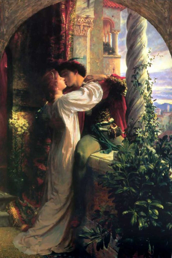 dicksee romeo and juliet
