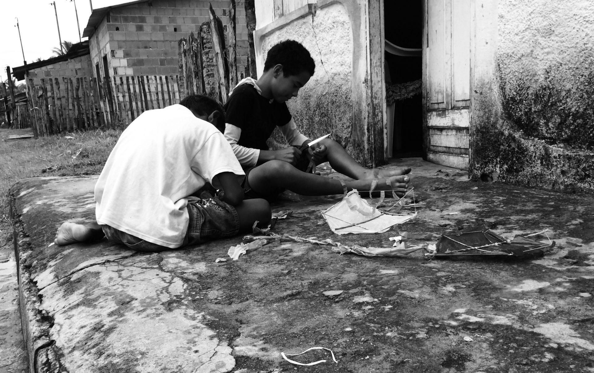 Roberto Mancini, i bambini delle favelas e un vecchio pallone