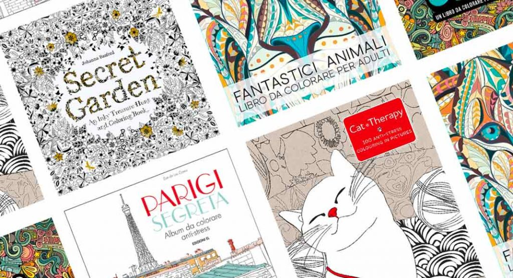 9 libri da colorare per quando non ce la fai più