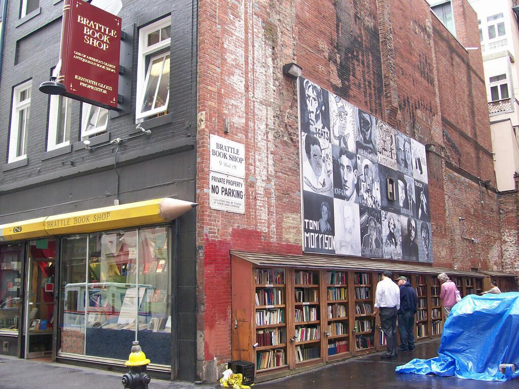 Brattle Book Shop, la più grande libreria di libri usati e d'antiquariato