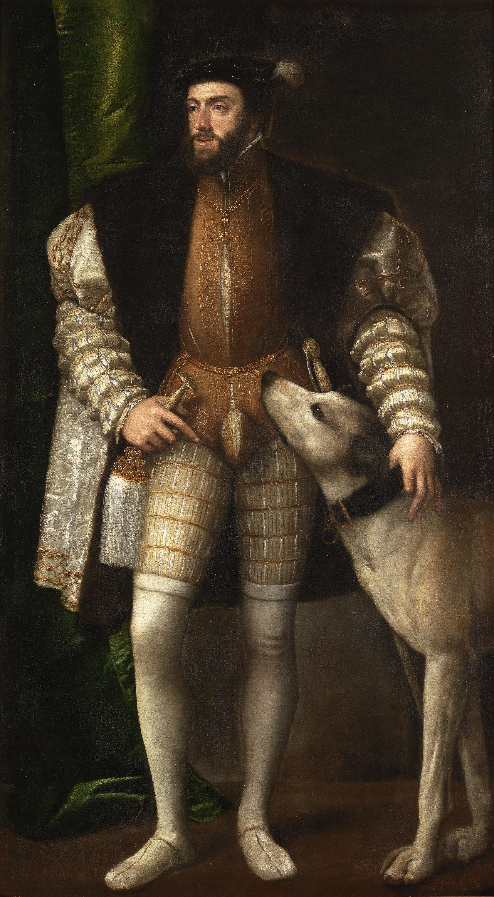 Carlo V Tiziano