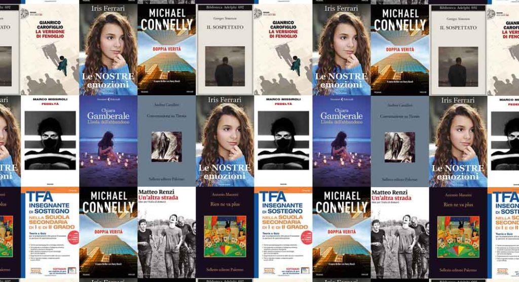 Classifica libri più venduti. Chiara Gamberale al secondo posto