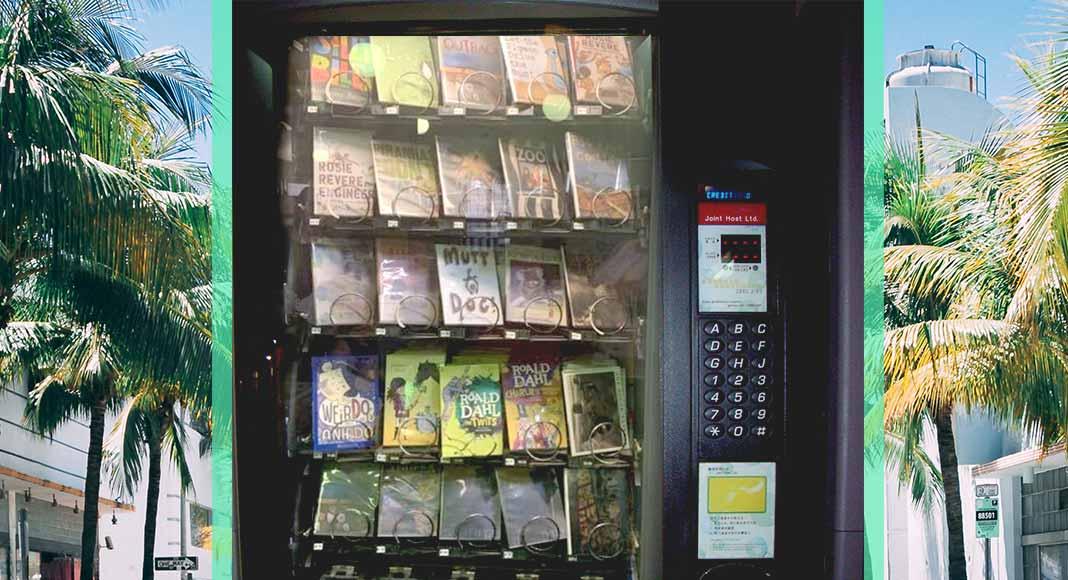 Florida scuola macchinette automatiche distribuiscono libri