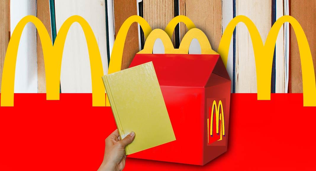 McDonald's regala un libro con un Happy Meal