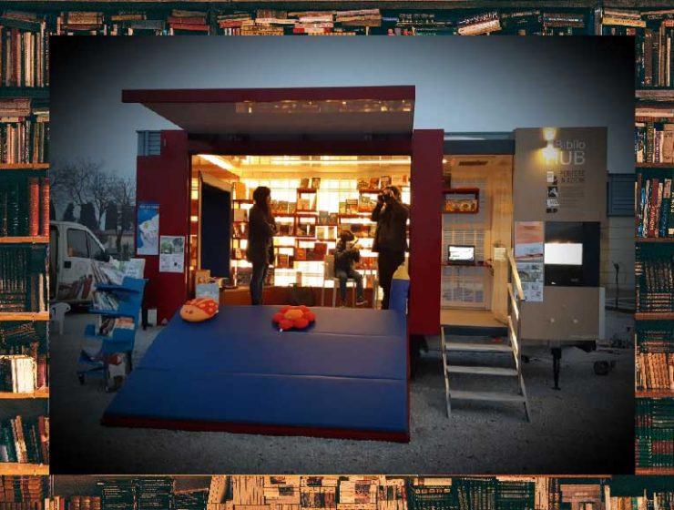 BiblioHUB, la biblioteca itinerante per la comunità prosegue il tour in primavera