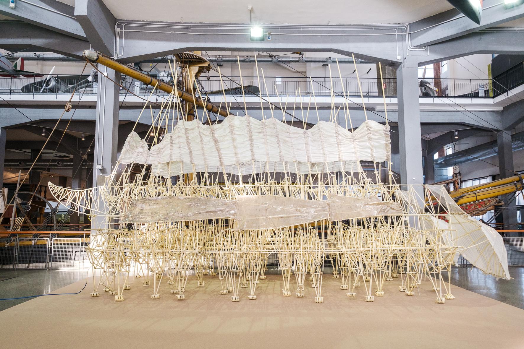 Theo Jansen Dream Beasts©Paolo Soave MuseoNazionaleScienzaTecnologia 0035