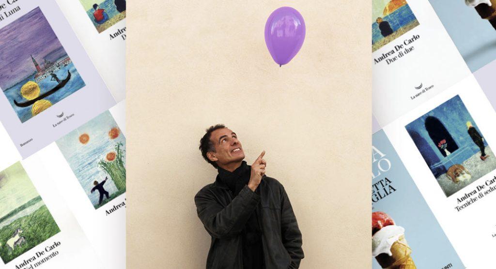 Come scrivere un libro, i consigli di Andrea De Carlo agli aspiranti scrittori