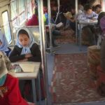 Kabul, un bus per il cervello