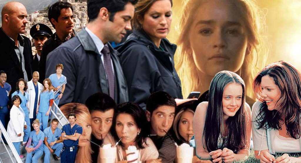 Le serie televisive più amate dai lettori