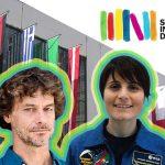 Alberto Angela e AstroSamanta a Il Salone del Libro di Torino