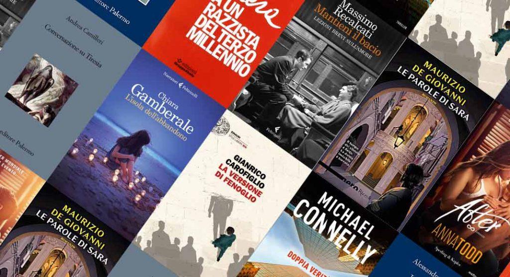 Classifica libri più venduti. Il giallo trionfa sul podio