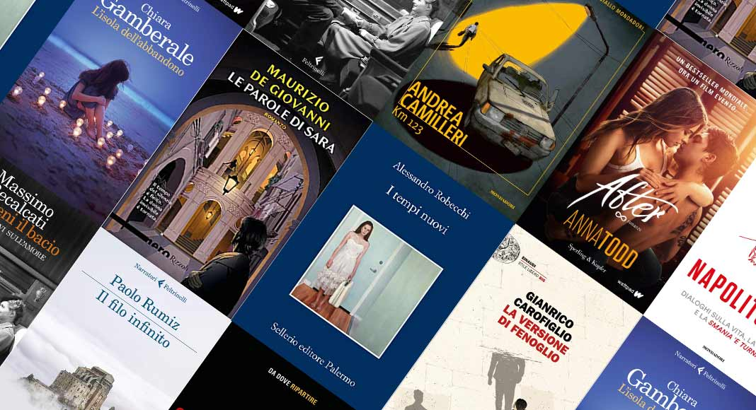 Classifica libri più venduti. Al secondo posto il nuovo libro di Camilleri
