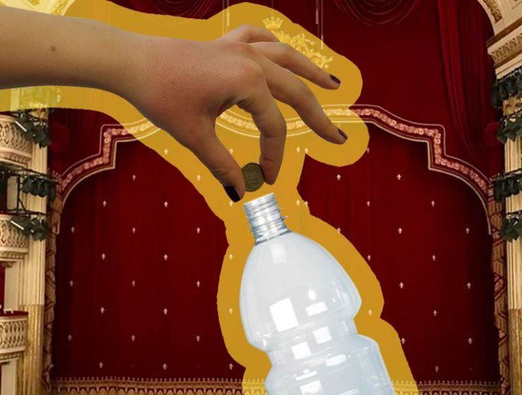 FareRaccolta, in cambio di bottiglie di plastica vado a teatro