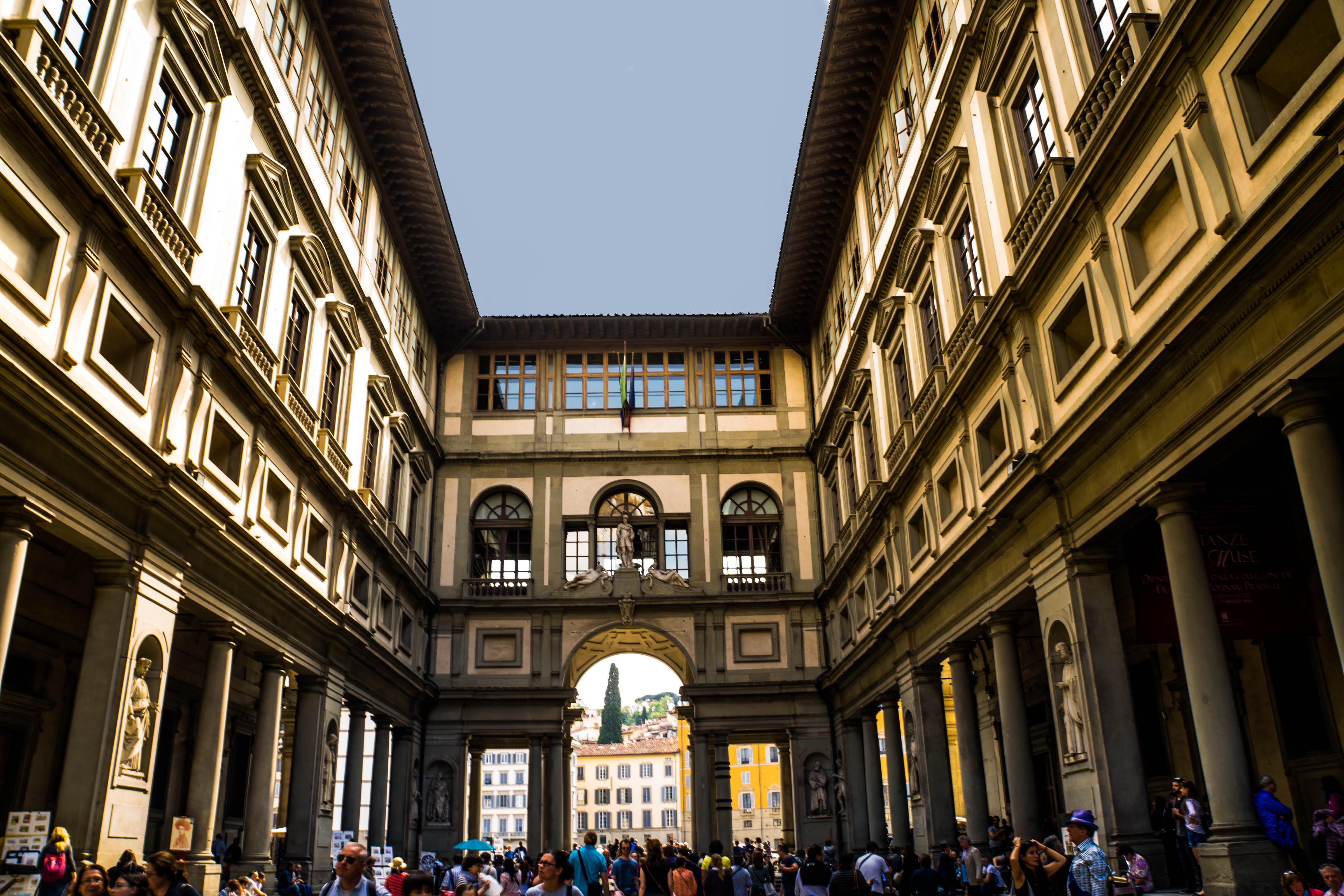 Florence Italy Uffizi Museum panoramio 5