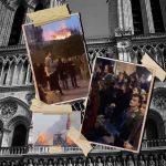 Fluctuat nec mergitur, i parigini cantano davanti a Notre Dame in fiamme