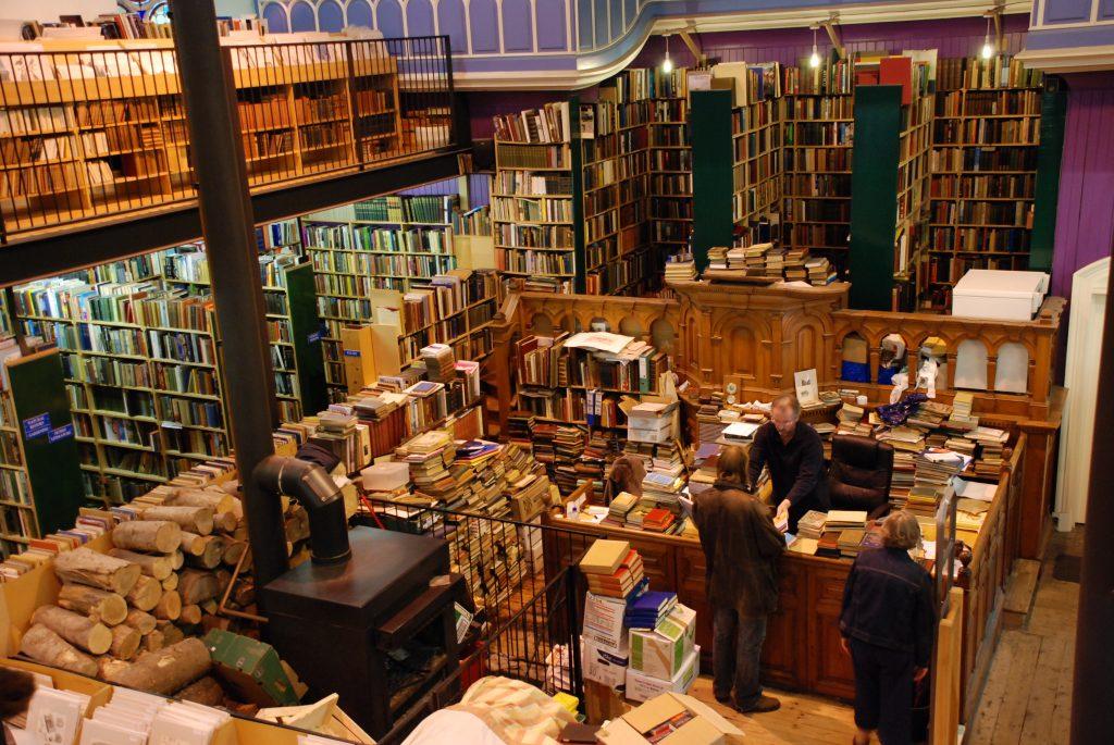 Leakeys Bookshop in Inverness Sethoscope