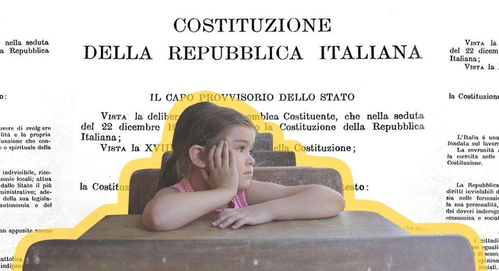 Perché è importante raccontare i princìpi della Costituzione ai bambini